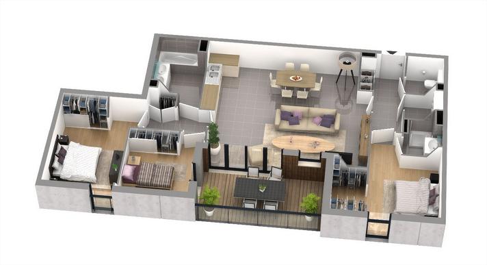 Achat Appartement Neuf Ile De France